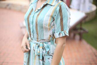 Vestido Floral Vitória em Áquila Tauheny Store   Moda Evangélica