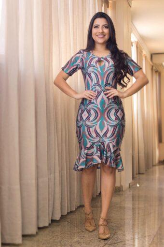 Vestido Ariane em Áquila Tauheny Store | Moda Evangélica