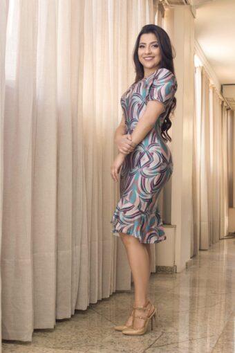 Vestido Ariane em Áquila Tauheny Store   Moda Evangélica