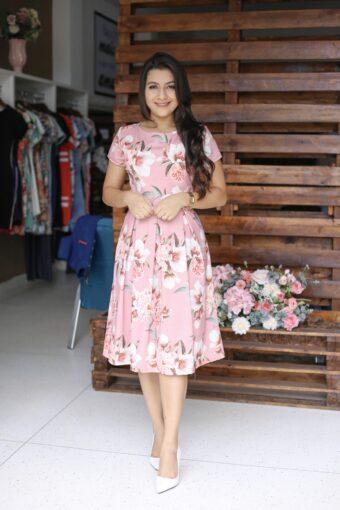 Vestido Floral Emily em Áquila Tauheny Store | Moda Evangélica