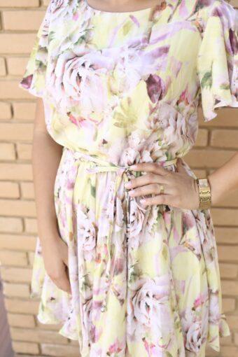 Vestido Floral Katy em Áquila Tauheny Store | Moda Evangélica