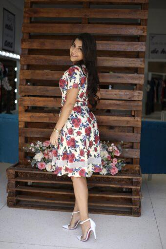 Vestido Godê Milena em Áquila Tauheny Store | Moda Evangélica