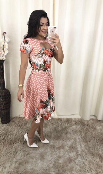 Vestido Godê Tereza em Áquila Tauheny Store | Moda Evangélica
