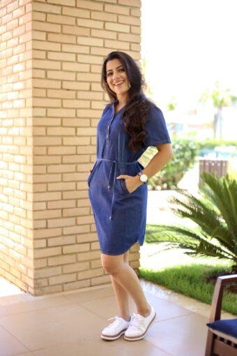 Vestido Jeans Il Sole - Aquila Tauheny Store