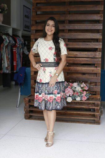 Vestido Laysa em Áquila Tauheny Store   Moda Evangélica