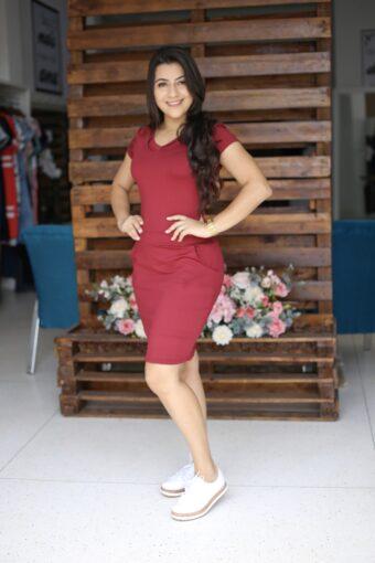 Vestido Malha Eloá em Áquila Tauheny Store | Moda Evangélica