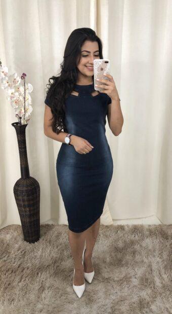 Vestido Nice em Áquila Tauheny Store | Moda Evangélica