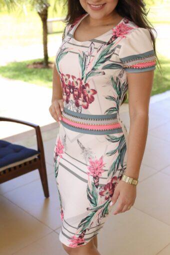 Vestido Pérola Nítido - Aquila Tauheny Store