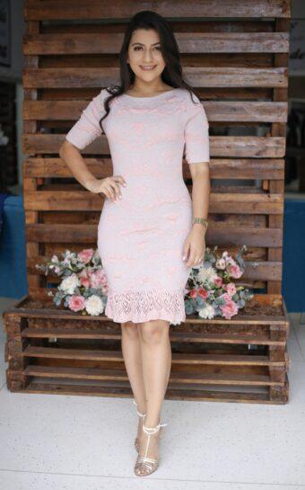 Vestido Tricot Lavínia em Áquila Tauheny Store | Moda Evangélica