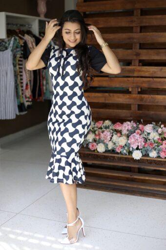 Vestido Tubinho Cecília em Áquila Tauheny Store   Moda Evangélica