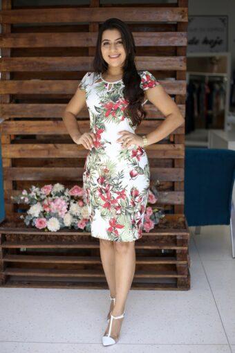 Vestido Tubinho Ketely em Áquila Tauheny Store | Moda Evangélica
