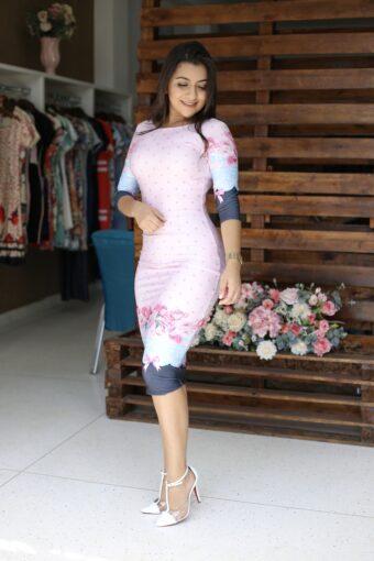 Vestido Tubinho Luna em Áquila Tauheny Store | Moda Evangélica