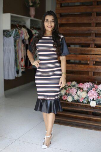Vestido Tubinho Rayssa em Áquila Tauheny Store | Moda Evangélica