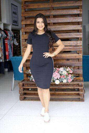 Vestido Tubinho Sara em Áquila Tauheny Store | Moda Evangélica