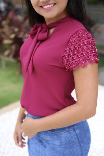 Blusa Cristiane em Áquila Tauheny Store | Moda Evangélica