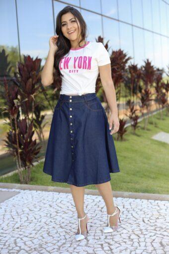 T-shirt New York em Áquila Tauheny Store | Moda EvangélicaT-shirt New York em Áquila Tauheny Store | Moda Evangélica