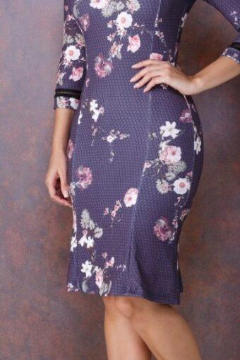 Vestido Floral Tela - Tatá Martello em Áquila Tauheny Store | Moda Evangélica