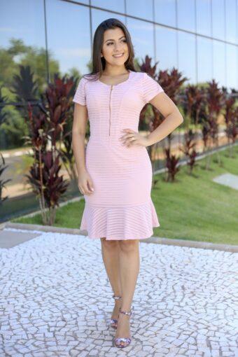 Vestido Tubinho Camilla em Áquila Tauheny Store | Moda Evangélica