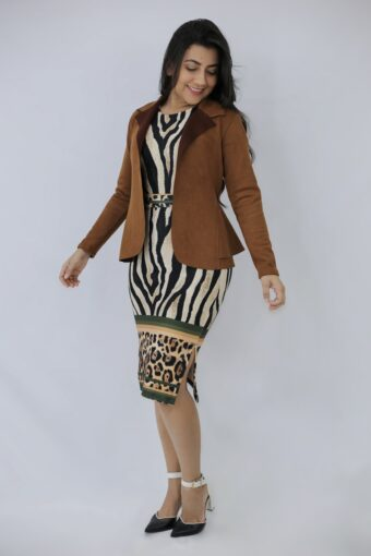 Blazer Marrom em Áquila Tauheny Store   Moda Evangelica