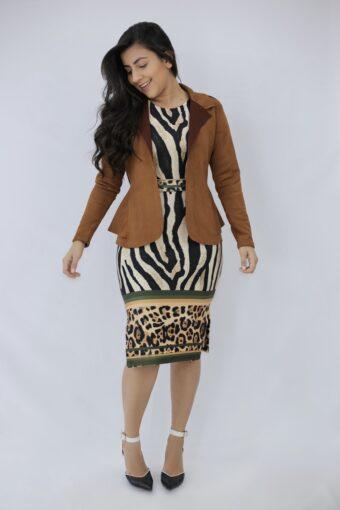 Blazer Marrom em Áquila Tauheny Store | Moda Evangelica