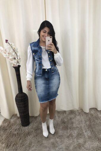 Conjunto Jeans em Áquila Tauheny Store | Moda Evangélica