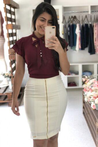 Saia Hapuk Juliette em Áquila Tauheny Store | Moda Evangélica