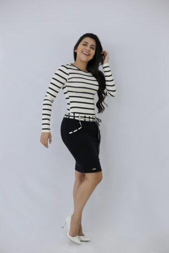Vestido Basic Jany Pim em Áquila Tauheny Store | Moda Evangélica