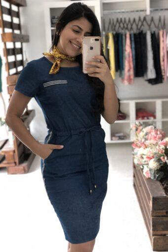 Vestido Jeans Simone em Áquila Tauheny Store