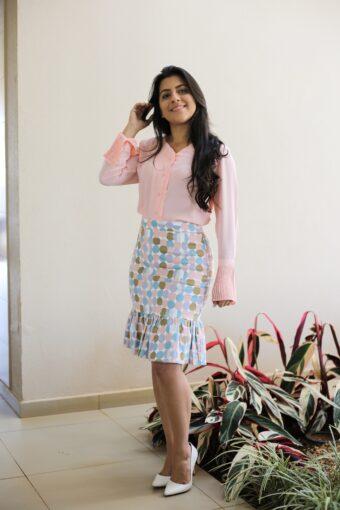 Camisa Rosa em Áquila Tauheny Store | Moda Evangélica