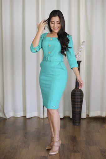 Vestido Hapuk Linho em Áquila Tauheny Store | Moda Evangélica