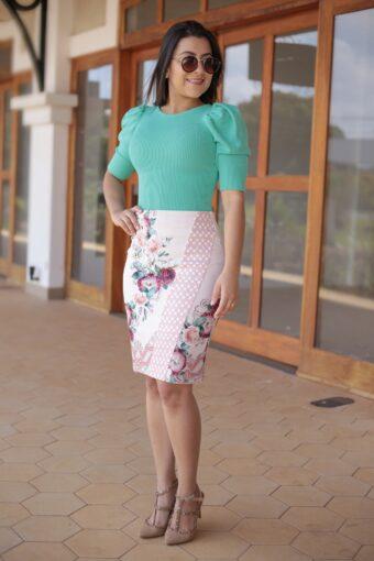 Blusa Tricot Mint em Áquila Tauheny Store | Moda Evangélica