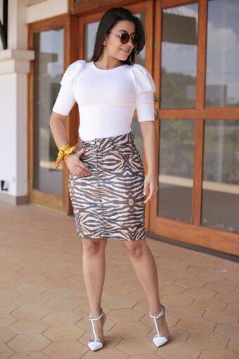 Blusa Tricot Off em Áquila Tauheny Store | Moda Evangélica