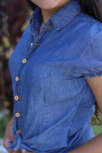 Camisa Jeans em Áquila Tauheny Store | Moda Evangélica