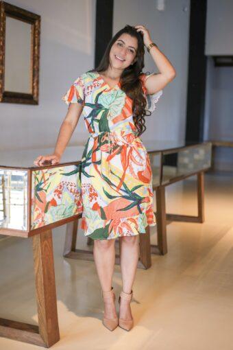 Vestido de Viscose em Áquila Tauheny Store | Moda Evangélica