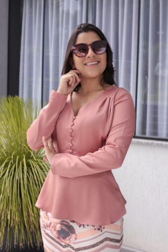 Blusa Peplum em Áquila Tauheny Store | Moda Evangélica