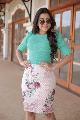 Blusa Tricot Verde em Áquila Tauheny Store | Moda Evangélica
