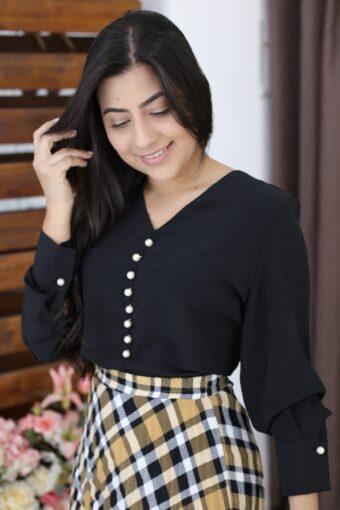 Camisa Preta em Áquila Tauheny Store | Moda Evangélica
