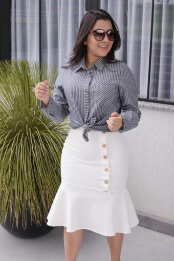 Camisa Social Cinza em Áquila Tauheny Store | Moda Evangélica