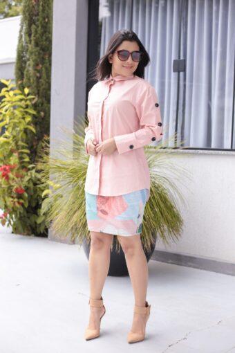 Camisão Rosa em Áquila Tauheny Store | Moda Evangélica