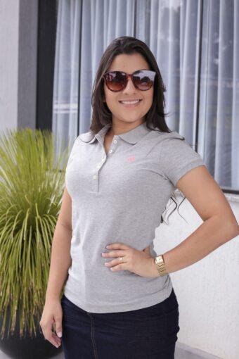 Polo Aéropostale Cinza em Áquila Tauheny Store | Moda Evangélica
