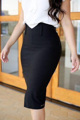 Saia Secretária Bengaline em Áquila Tauheny Store   Moda Evangélica