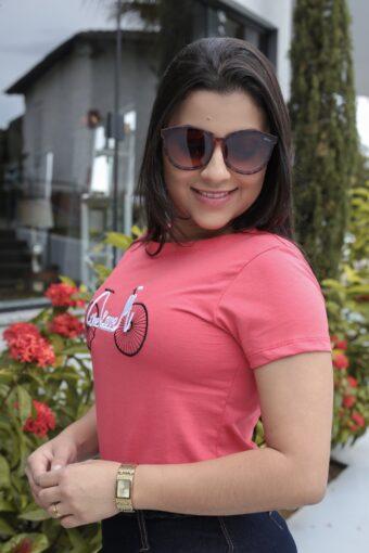T-shirt Rosa em Áquila Tauheny Store | Moda Evangélica