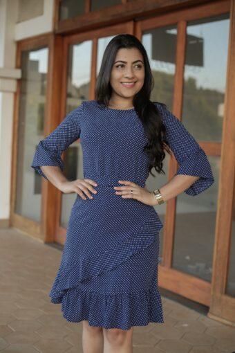 Vestido Jany Pim Poá em Áquila Tauheny Store | Moda Evangélica