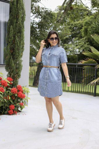 Vestido Jeans em Áquila Tauheny Store | Moda Evangélica