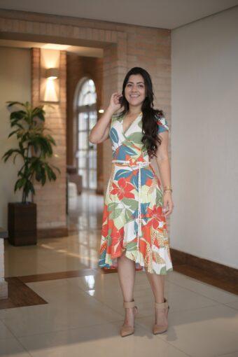 Vestido Malha Mullet em Áquila Tauheny Store | Moda Evangélica