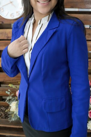 Blazer Social Azul