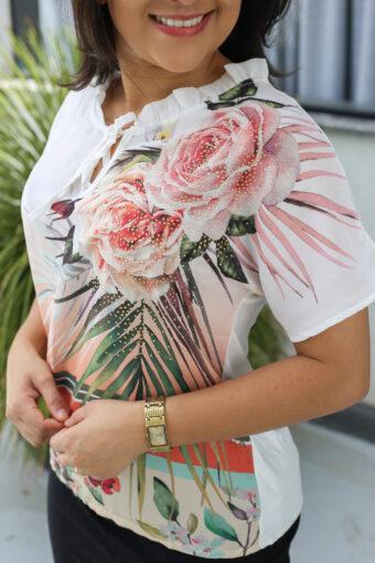 Blusa Gola Laço em Áquila Tauheny Store | Moda Evangélica