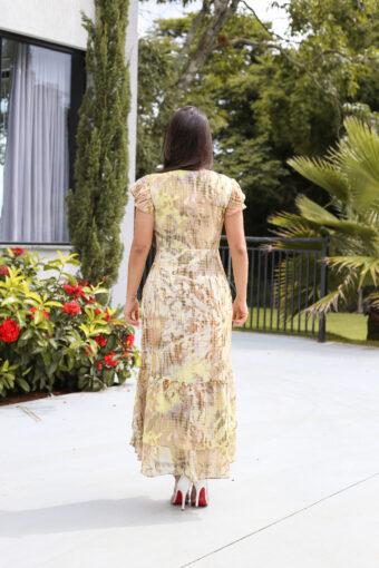 Vestido Crepe Mullet em Áquila Tauheny Store | Moda Evangélica