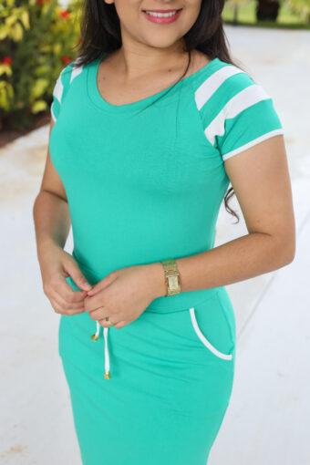 Vestido Malha Esporte em Áquila Tauheny Store | Moda Evangélica