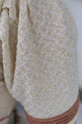 Vestido Tricot Evasê Lurex em Áquila Tauheny Store | Moda Evangélica